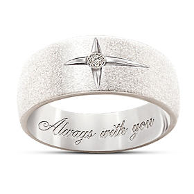 Forever In Faith Diamond Men And Women's Ring