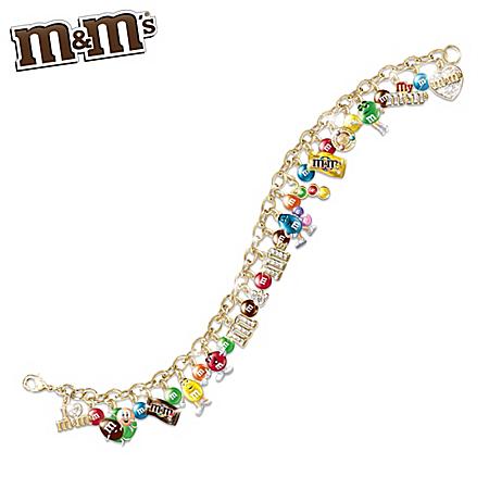 Bradford Exchange Ultimate M&M'S Charm Bracelet