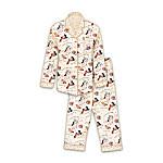 Cat Art Flannel Pajamas Sleepwear: Unique Cat Lover Gift