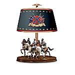Light Of Glory Leaders Of The Confederacy Decorative Civil War Table Lamp: Civil War Decor
