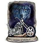 Leader Of The Pack Motorcycle Figurine