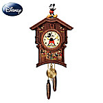 Disney Memories Of Mickey Mouse Wooden Wall Cuckoo Clock: Disney Mickey Mouse Wall Decor