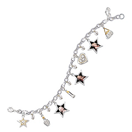 The Glamour Of Marilyn Charm Bracelet: Collectible Marilyn ...