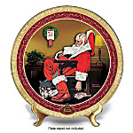 Collector Plate: Norman Rockwell The Day After Christmas Collector Plate