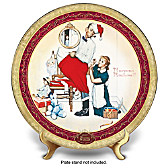 Santa's Surprise Collector Plate