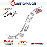 Dale Earnhardt Collectibles Dale Earnhardt Jr Charm Bracelet