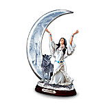 Mystic Calling Collectible Wolf Themed Figurine