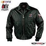 Dale Earnhardt Commemorative Leather Jacket: Forever The Man