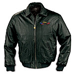 Pride Of The South Leather Jacket