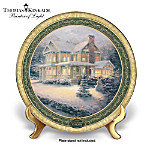 Thomas Kinkade 2010 Cherished Christmas Memories Collector Plate