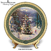 Thomas Kinkade O Christmas Tree Collector Plate