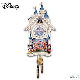 Disney Happiest Of Times Cuckoo Clock