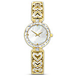 Love Always Diamond Heart Women's Watch