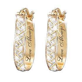 For Love Always Diamond Earrings