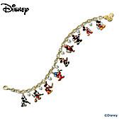 Mickey Through The Years Charm Bracelet