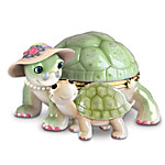 Granddaughter Turtle Music Box: Grandma's Little Sweetheart