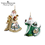 Thomas Kinkade Ornament Set