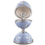 Love And Protection Guardian Angel Egg-Shaped Music Box: Gift For Granddaughter
