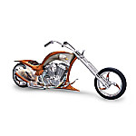 Eagle Art Motorcycle Figurine: Free Spirit Chopper