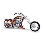 Eagle Art Motorcycle Figurine: Free Spirit Chopper