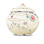 2011 Dear Daughter, Wishes From The Heart Music Box With Swarovski Crystals