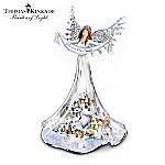 Thomas Kinkade Illuminated Musical Angel Figurine: Angel Of Peace