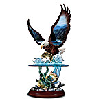 Swift Fury Eagle And Bass Figurine