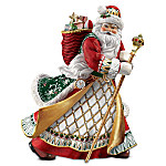 Precious Treasure Heirloom Santa Claus Figurine Inspired By Peter Carl Faberge