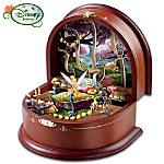 Disney Tinker Bells Cottage Masterpiece Music Box