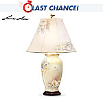 Lena Lius Hummingbird Treasury Porcelain Table Lamp