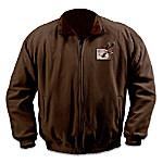 Eagle Art Reversible Fleece Jacket