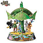 The Wizard Of Oz Heirloom Porcelain Carousel Music Box