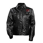 Elvis Presley '68 Comeback Special Women's Leather Jacket: 75th Anniversary Exclusive