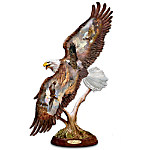 Ted Blaylocks Bald Eagle Artistic Sculpture: Wings Of Majesty