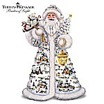 Thomas Kinkade Father Christmas Santa Claus Figurine