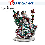 Thomas Kinkade Heirloom Porcelain Santa Claus Figurine