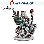 Thomas Kinkade Heirloom Porcelain Santa Claus Figurine