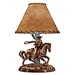 John Wayne Lamp -Themed 16-Inch Tall Accent Lamp: American Legend