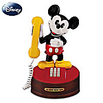 Disney Mickey Mouse Phone Musical Figurine