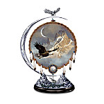 Native American-Inspired Eagle Art Figurine: Freedom Of The Sky