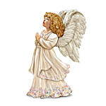 Angel Art Porcelain Night Light Lamp: Delicate Blessings