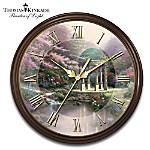 Thomas Kinkade's Times Of Splendor 25th Anniversary Commemorative Wall Clock