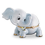 Kismet Elephant Heirloom Porcelain Music Box