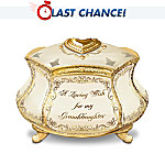 Personalized Message Keepsake Box For Granddaughters: Heirloom Messages
