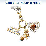I Love My Dog Key Chain: Choose Your Breed