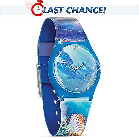 Buy artwatches - Dolphin Art Watch: Treasures Of The Sea