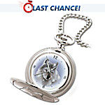 Wolf Art Pocket Watch: Legends Of The Wild