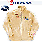 Disney Winnie The Pooh Characters Fleece Jacket: Its More Snuggly With You