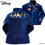 Disney Characters Fleece Jacket: Magic Of Disney