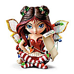 Dear Santa: Define Good Fantasy Fairy Figurine By Jasmine Becket-Griffith